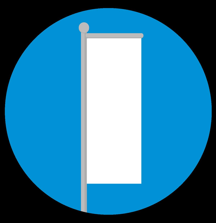 Signaal Vlaggenservice - Baniermast